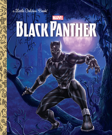 Little Golden Books - Black Panther
