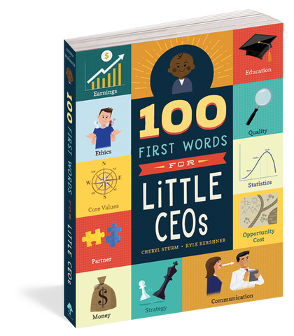 100 First Words for Little CEO's