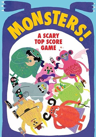 Monsters! A Scary Top Score Game