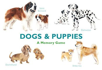 A Memory Game: Dogs & Puppies