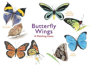 A Matching Game: Butterfly Wings