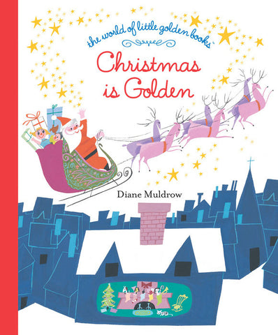 Little Golden Books - Christmas is Golden
