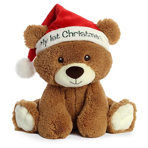 Aurora My 1st Christmas Bear 10