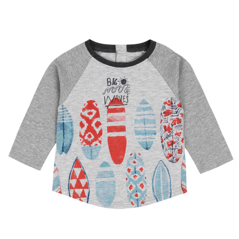 "Deux Par Deux ""All Aboard, Matey!"" Surfboards L/S T-Shirt"