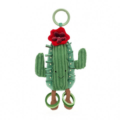 By Jellycat: Amuseables Baby Cactus Activity Toy 10""