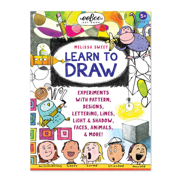 eeBoo Learn to Draw with Melissa Sweet Art Book