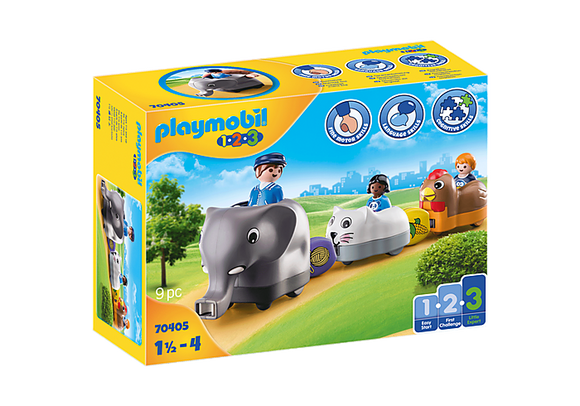 Playmobil 1.2.3 Animal Train