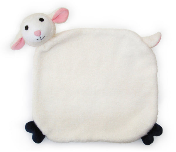 Apple Park Organic Cotton Blankie – Lamby