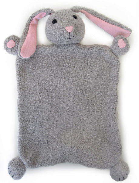 Apple Park Organic Cotton Blankie – Bunny