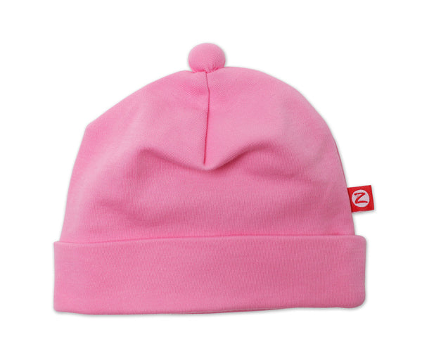 Zutano Baby Hat Hot Pink