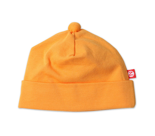 Zutano Newborn Hat Orange