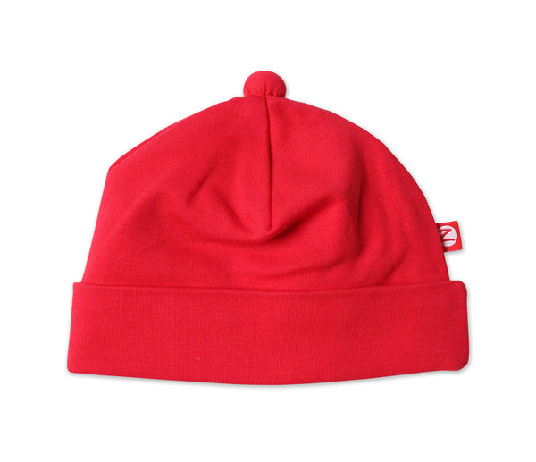 Zutano Baby Hat Red