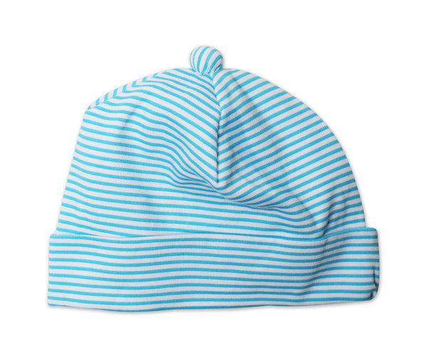 Zutano Baby Hat Pool Candy Stripe
