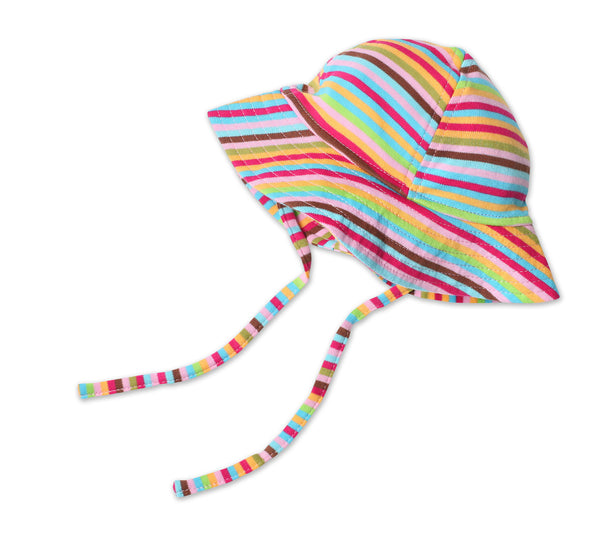 Zutano Baby Sun Hat Super Stripe