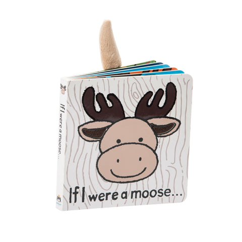 Jellycat Board Book If I Were a Moose (new)