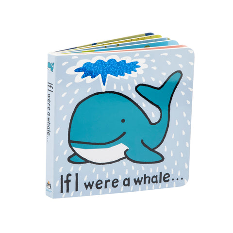 Jellycat Board Book If I Were a Whale
