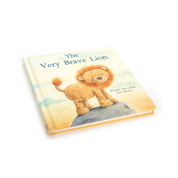 Jellycat Book The Very Brave Lion