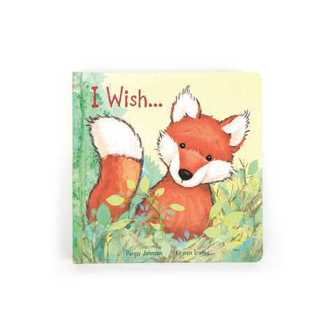 Jellycat Book I Wish