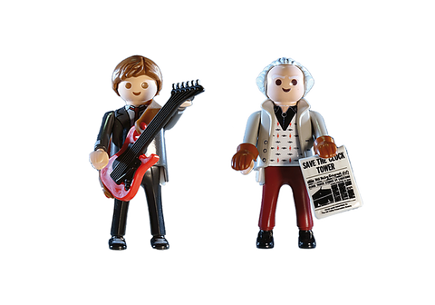Playmobil Back to the Future - Marty McFly and Dr. Emmet Brown