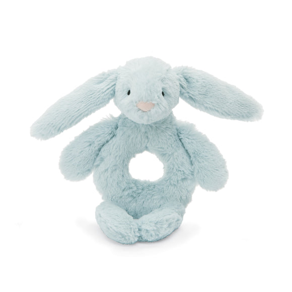 Little Jellycat Bashful Bunny Beau Ring Rattle 6