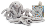 Little Jellycat Bashful Bunny Grey Soother