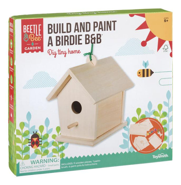 Beetle & Bee Garden - Build and Paint a Birdie B & B