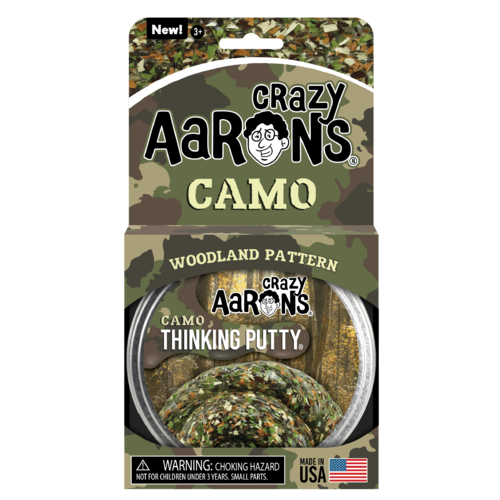 Crazy Aaron's Putty Trendsetter - Woodland Camo