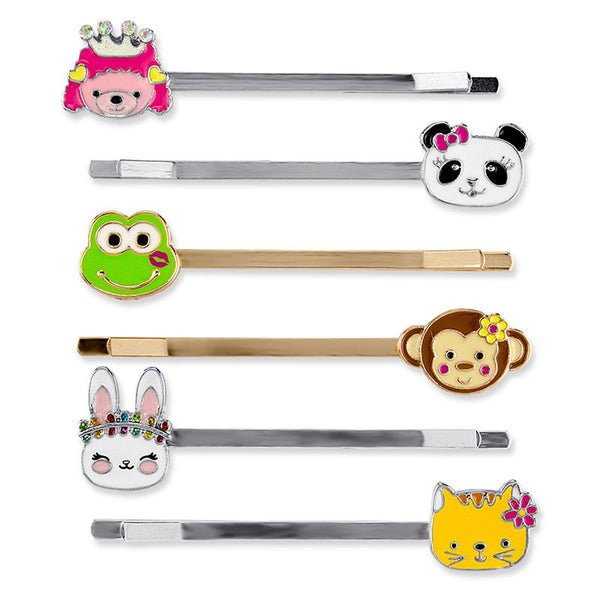 Charm It Bobby Pin Party Set Animals