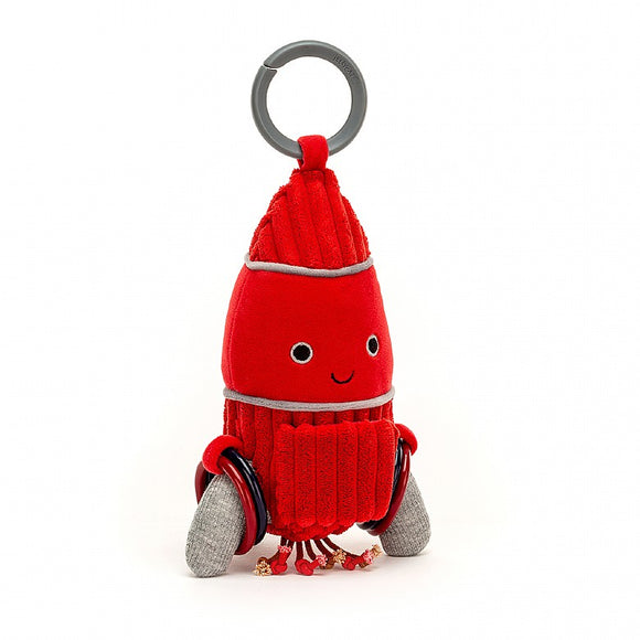 Little Jellycat Cosmopop Rocket Activity Toy 9