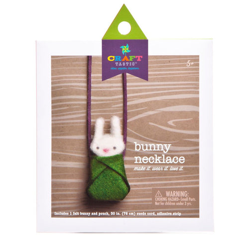 Craft-tastic Bunny Necklace
