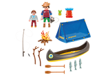 Playmobil Family Fun: Camping Adventure Carry Case