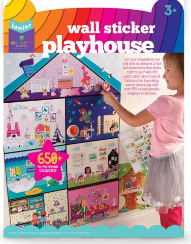 Craft-tastic Wall Sticker Playhouse