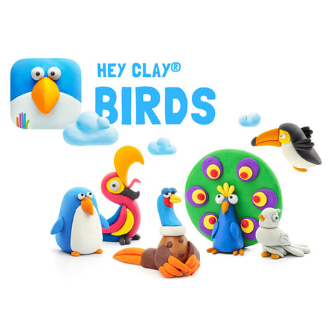 Fat Brain Toys Hey Clay Birds