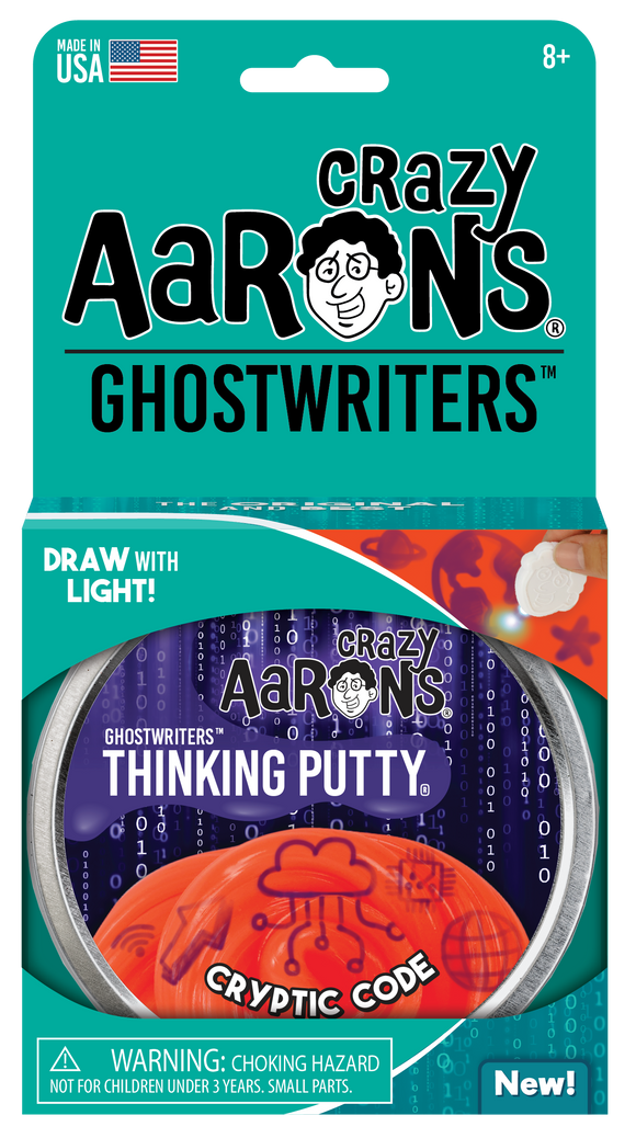 Crazy Aaron's Thinking Putty Cryptic Code