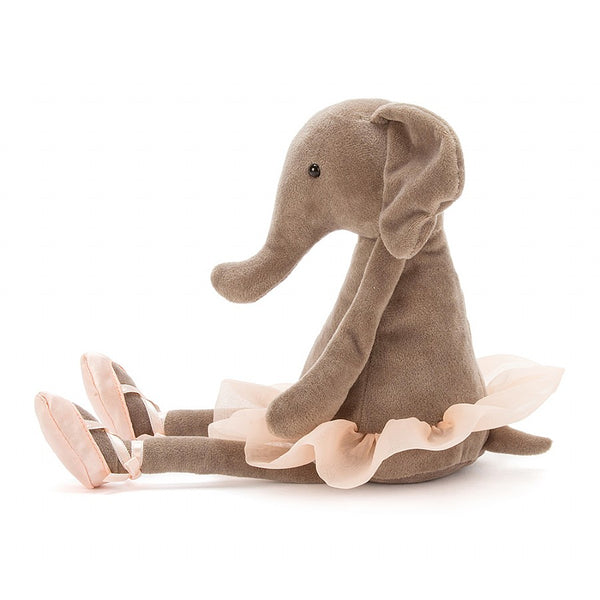 Jellycat Dancing Darcey Elephant Medium 13""