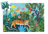 Djeco Silhouette 24 Piece Puzzle The Tiger's Walk