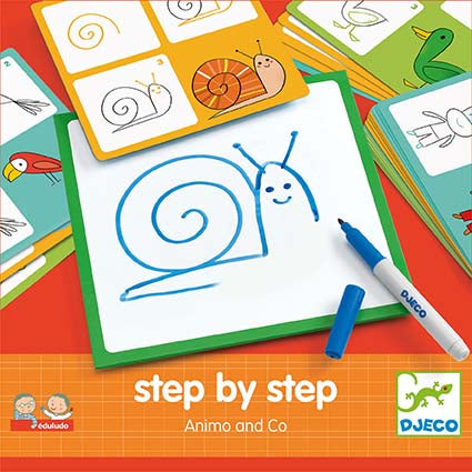 Djeco Step by Step Animo and Co