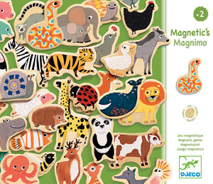 Djeco Wooden Magnets Animal Magnimo