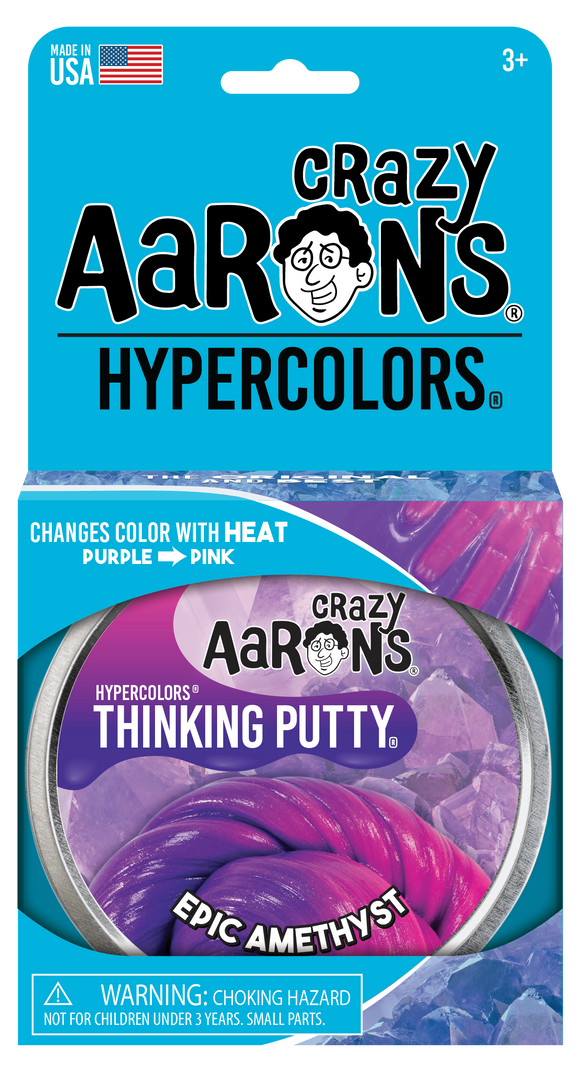 Crazy Aaron's Thinking Putty Epic Amethyst