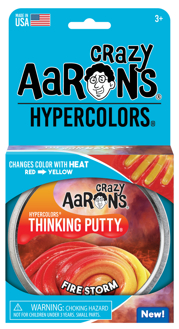 Crazy Aaron's Thinking Putty Fire Storm