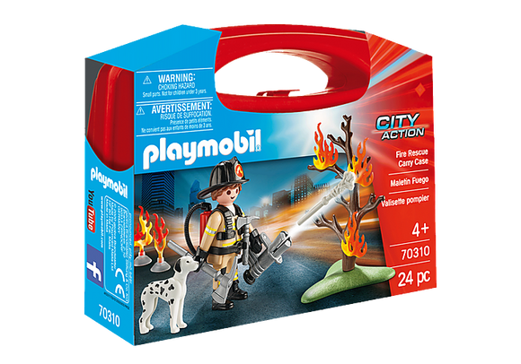 Playmobil City Action: Fire Rescue Carry Case