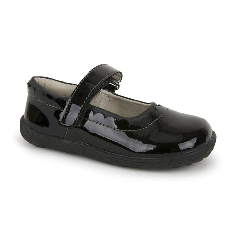 See Kai Run Jane II Black Patent