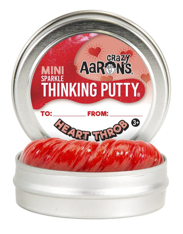 Crazy Aaron's Thinking Putty Valentine Mini Heart Throb