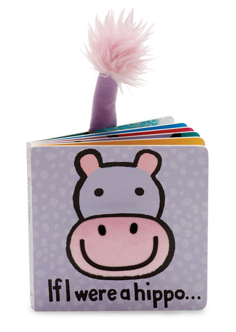 Jellycat Board Book If I Were a Hippo