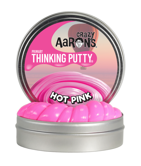 Crazy Aaron's Thinking Putty Mini Hot Pink