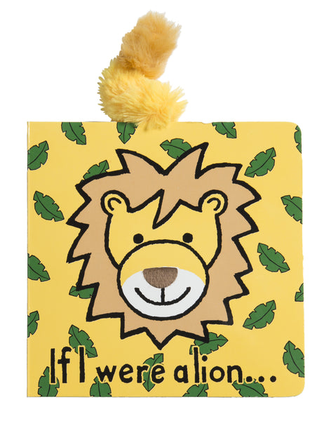 Jellycat Board Book If I Were a Lion
