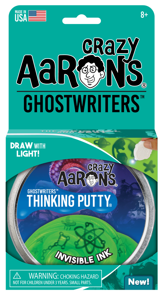 Crazy Aaron's Thinking Putty Invisible Ink