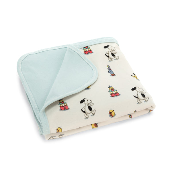 Little Jellycat Bashful Puppy Jersey Blanket