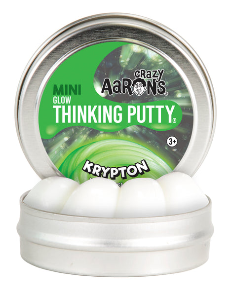 Crazy Aaron's Thinking Putty Mini Krypton