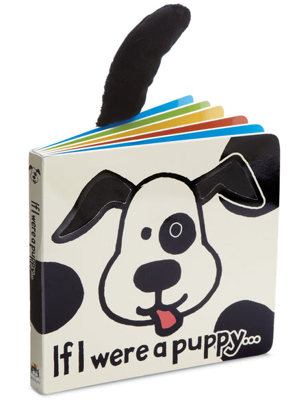 Jellycat Board Book If I Were a Puppy